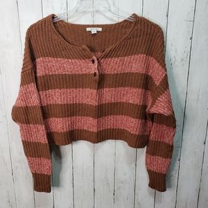 American Eagle Outfitters AEO Cropped Sweater